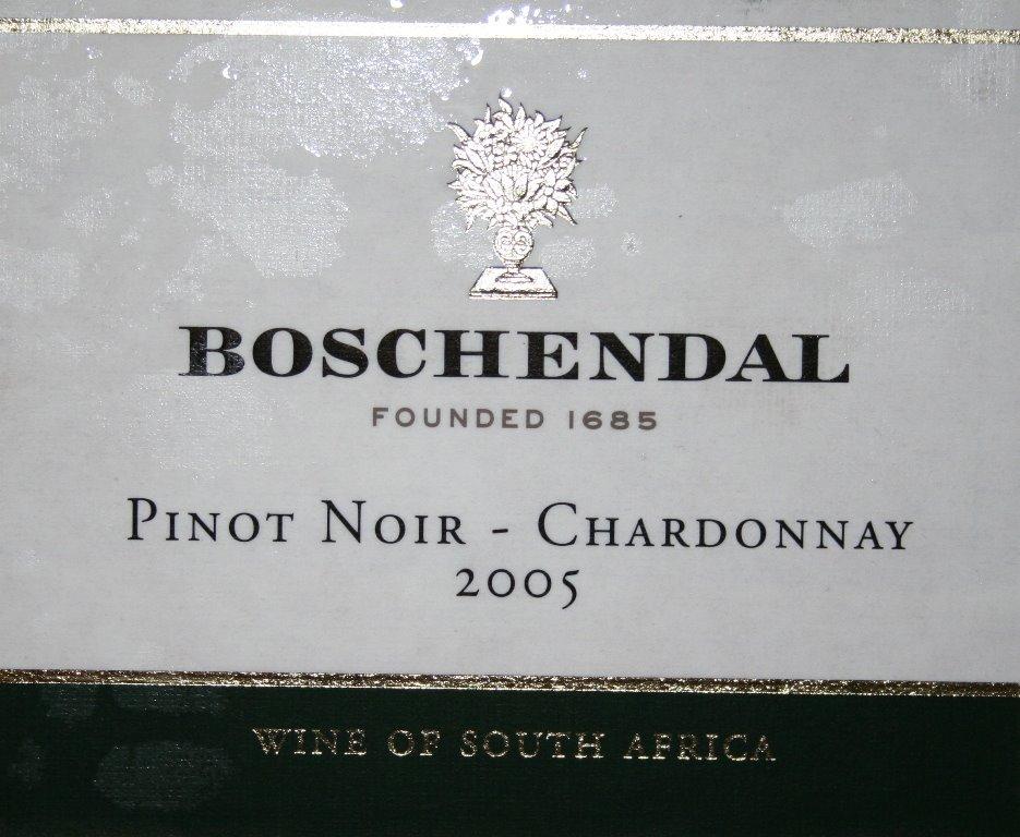 Boschendal Pinot Noir \ Chardonnay 2005